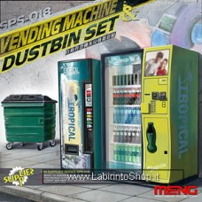 Meng Automatic Vending Machines and Trash