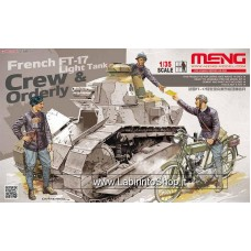 Meng French Light Tank Crew & Orderly