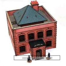 4ground Victorian White Chapel to Baker Street Police Station 28 mm