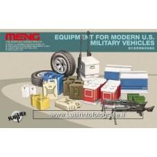 Meng Model SPS-014 1/35 Equipment for Modern U.S. Military Vehicles