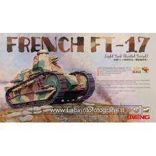 Meng Model TS011 TS-011 French FT-17 Light Tank
