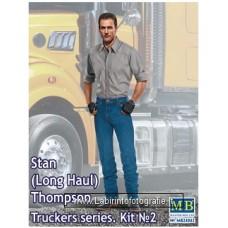 Masterbox - 1/24 - Truckers Series: Stan Long Haul Thompson Trucker