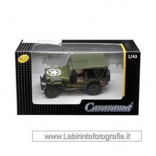 Cararama Jeep 1/4 Ton Army Green