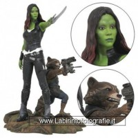 Diamond Select Marvel Gallery - Gamora & Rocket Raccoon