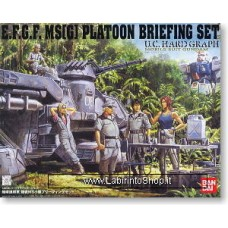 E.F.S.F. MS Briefing Set (Gundam Model Kits)