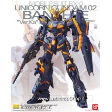 RX-0 Unicorn Gundam 02 Banshee Ver.Ka (MG) (Gundam Model Kits)