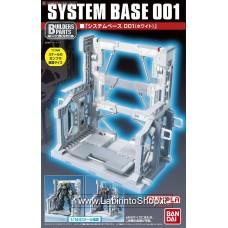 System Base 001 (White) (Gundam Model Kits)
