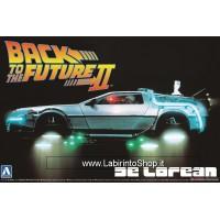 Back to the Future De Lorean Part II (Model Car) 1/24