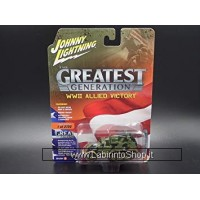 Johnny Lightning The Greatest Generation WWII Allied Vicotry M16 Half-Track