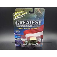 Johnny Lightning The Greatest Generation WWII Allied Vicotry Willys MB Jeep
