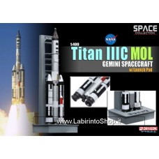 Dragon Space Collection Ariane 5G With Launch Pad Pre-built and Pre Painted Model 1/400