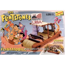 The Lindberg Line The Flintstones Flintmobile Napit Kit 1/25