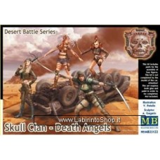 Masterbox - 1/35 - Desert Battle Series - Skull Clan - Death Angels