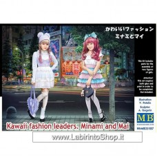Masterbox - 1/35 - Kawaii Fashion Leaders - Minami and Mai