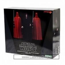 Star Wars Emperor Palpatine & Royal Guards ArtFX+ Statue 3-Pack