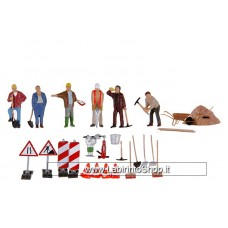 Noch 15111- Lavoratori Stradali - Wolkers And Tools