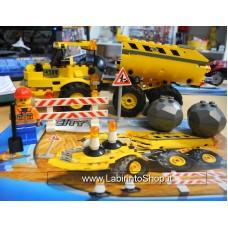 Lego - 7631 City Dump Truck - completo con istruzioni - senza scartola