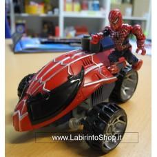 Megabloks - Spidermobile with Spider-man - completa - Senza istruzioni e scatola - Assemblata