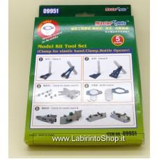 Master Tools Model Kit Tool Set 5 Tools