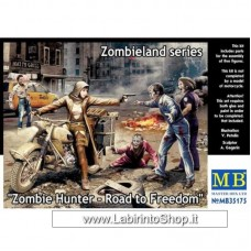 Masterbox 1:35 - Zombie Hunter - 135 Scale Road Freedom Zombieland Series