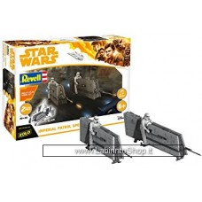 Revell - Star Wars Solo Imperial Patrol Speeder - Model Kit