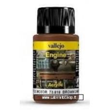 Vallejo Weathering Effects 73.818 Brown Engine Soot 40 ml