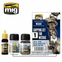 Ammo of Mig Weathering Set For Mechas