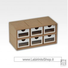 Hobby Zone - Drawers Module x 6 - OM01a