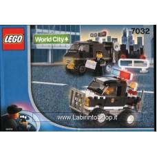Lego - Police Highway Patrol & Undercover Van 7032