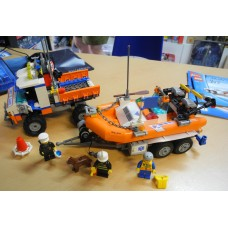 Lego - City Model 7726 Coast Guard Truck with Speed Boat