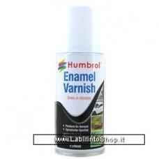 Humbrol Enamel Spray Satin Shade 135 Paint Model Kit 150ml Varnish