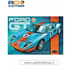 Polar Lights Model Kits 1:25 Ford Gt 2006 Gulf Model Kit