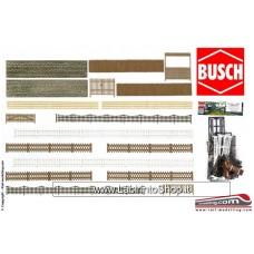 Busch HO 6017 - HO Assorted Walling