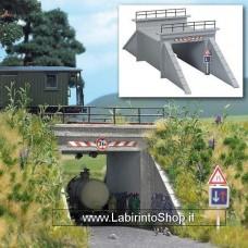 Busch HO 1409 - Concrete Underpass