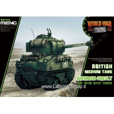 Meng wwt-008 British Medium Tank Sherman Firefly