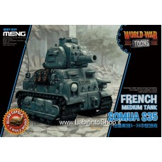 Meng wwt-009 French Medium Tank Somua S35