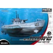 Meng wb-003 Warship Builder U-boat Type VII