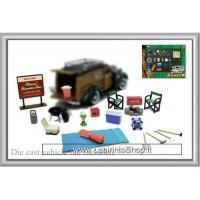 Phoenix Toys Hobby Gear Die-Cast Happy Camper 1:24 Scale