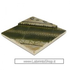 Vallejo - Diorama Bases - Paved Street Section - 1/35 - 14x14 cm Non Dipinto