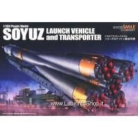 Good Smile Company Soyuz Rocket & Transport Train Plastic Model Kit 1/150 32 cm