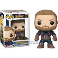 Pop Marvel 288 Avengers - Infinity War - Captain America