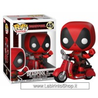 Pop! Rides: Deadpool On Scooter