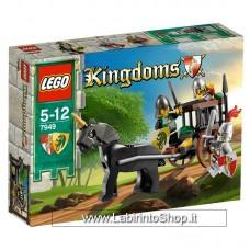 Lego Kingdoms 7949 - Set completo aperto completo di scatola e istruzioni
