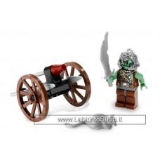 Lego Kingdoms 5618 - Set Completo Aperto Con istruzioni - senza scatola