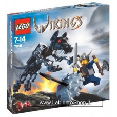 Lego Vikings 7015 - Set Completo Aperto Con istruzioni - Con scatola un po' rovinata