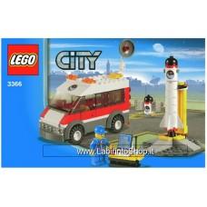 Lego City 3366 - Set Completo Aperto Con istruzioni - Con scatola un po' rovinata