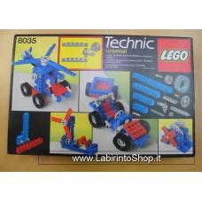 Lego - 8035 Technic Universal - Vintage kit in buon econdizioni completo di scatola come da fotografia