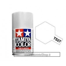 Tamiya Color - TS-27 Matt White - Spray