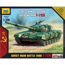 Zvezda 7400 Soviet Main Battle Tank T-72B