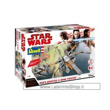 Revell Star Wars Build & Play Poe's Boosteed X-wing Fighter